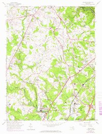 Download a high-resolution, GPS-compatible USGS topo map for Savage, MD (1967 edition)