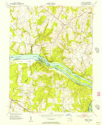 Download a high-resolution, GPS-compatible USGS topo map for Seneca, MD (1957 edition)