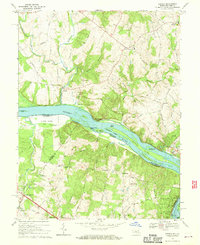 Download a high-resolution, GPS-compatible USGS topo map for Seneca, MD (1970 edition)
