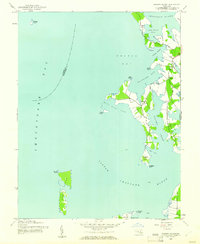 Download a high-resolution, GPS-compatible USGS topo map for Sharps Island, MD (1961 edition)