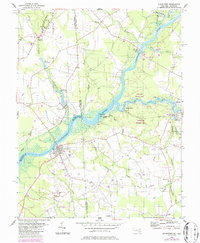 Download a high-resolution, GPS-compatible USGS topo map for Sharptown, MD (1987 edition)