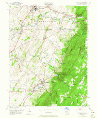 Download a high-resolution, GPS-compatible USGS topo map for Smithsburg, MD (1965 edition)