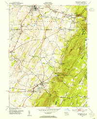 Download a high-resolution, GPS-compatible USGS topo map for Smithsburg, MD (1955 edition)
