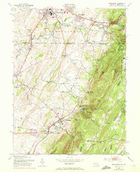 Download a high-resolution, GPS-compatible USGS topo map for Smithsburg, MD (1972 edition)