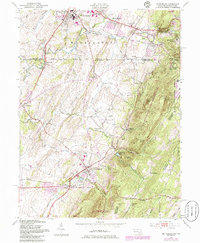 Download a high-resolution, GPS-compatible USGS topo map for Smithsburg, MD (1986 edition)