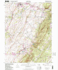 Download a high-resolution, GPS-compatible USGS topo map for Smithsburg, MD (1999 edition)