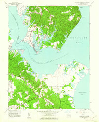 Download a high-resolution, GPS-compatible USGS topo map for Solomons Island, MD (1962 edition)