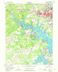 Download a high-resolution, GPS-compatible USGS topo map for South River, MD (1971 edition)