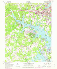 Download a high-resolution, GPS-compatible USGS topo map for South River, MD (1978 edition)