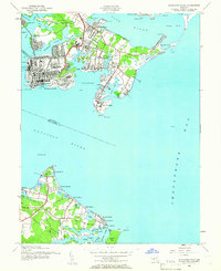 Download a high-resolution, GPS-compatible USGS topo map for Sparrows Point, MD (1962 edition)