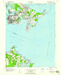 Download a high-resolution, GPS-compatible USGS topo map for Sparrows Point, MD (1960 edition)