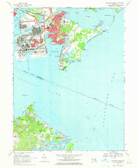 Download a high-resolution, GPS-compatible USGS topo map for Sparrows Point, MD (1971 edition)