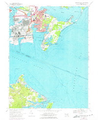 Download a high-resolution, GPS-compatible USGS topo map for Sparrows Point, MD (1975 edition)