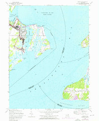 Download a high-resolution, GPS-compatible USGS topo map for Spesutie, MD (1976 edition)