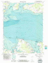 Download a high-resolution, GPS-compatible USGS topo map for St Clements Island, MD (1993 edition)
