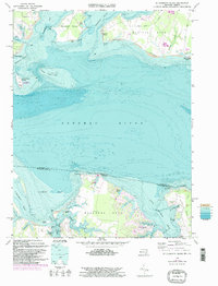 Download a high-resolution, GPS-compatible USGS topo map for St Clements Island, MD (1997 edition)