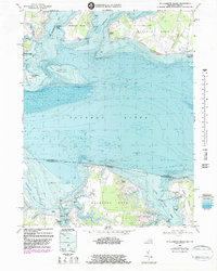 Download a high-resolution, GPS-compatible USGS topo map for St Clements Island, MD (1983 edition)