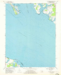 Download a high-resolution, GPS-compatible USGS topo map for St George Island, MD (1972 edition)
