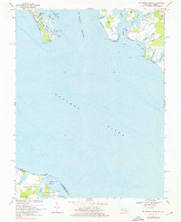 Download a high-resolution, GPS-compatible USGS topo map for St George Island, MD (1976 edition)