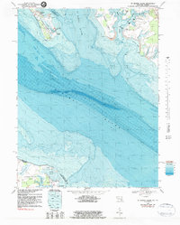 Download a high-resolution, GPS-compatible USGS topo map for St George Island, MD (1983 edition)