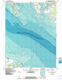 Download a high-resolution, GPS-compatible USGS topo map for St George Island, MD (1987 edition)