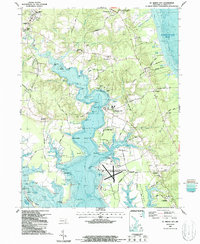 Download a high-resolution, GPS-compatible USGS topo map for St Marys City, MD (1987 edition)