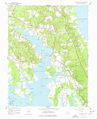 Download a high-resolution, GPS-compatible USGS topo map for St Marys City, MD (1977 edition)