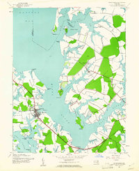 Download a high-resolution, GPS-compatible USGS topo map for St Michaels, MD (1961 edition)