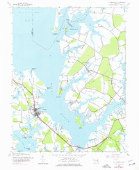 Download a high-resolution, GPS-compatible USGS topo map for St Michaels, MD (1977 edition)