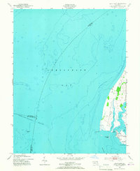 Download a high-resolution, GPS-compatible USGS topo map for Swan Point, MD (1967 edition)