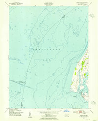 Download a high-resolution, GPS-compatible USGS topo map for Swan Point, MD (1955 edition)
