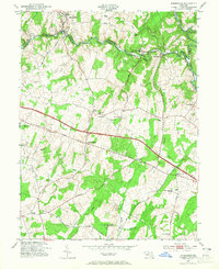 Download a high-resolution, GPS-compatible USGS topo map for Sykesville, MD (1965 edition)