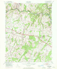 Download a high-resolution, GPS-compatible USGS topo map for Sykesville, MD (1971 edition)