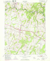 Download a high-resolution, GPS-compatible USGS topo map for Sykesville, MD (1979 edition)