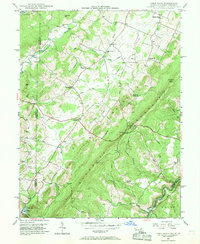 Download a high-resolution, GPS-compatible USGS topo map for Table Rock, MD (1968 edition)
