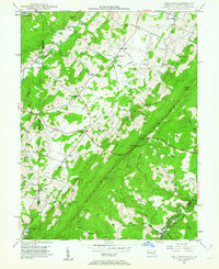 Download a high-resolution, GPS-compatible USGS topo map for Table Rock, MD (1962 edition)