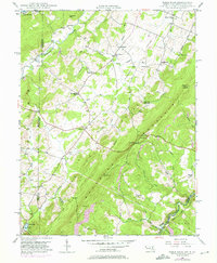Download a high-resolution, GPS-compatible USGS topo map for Table Rock, MD (1975 edition)