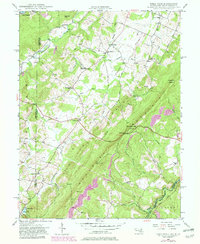 Download a high-resolution, GPS-compatible USGS topo map for Table Rock, MD (1982 edition)