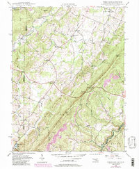 Download a high-resolution, GPS-compatible USGS topo map for Table Rock, MD (1998 edition)