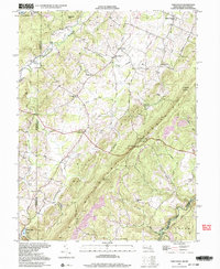Download a high-resolution, GPS-compatible USGS topo map for Table Rock, MD (2001 edition)