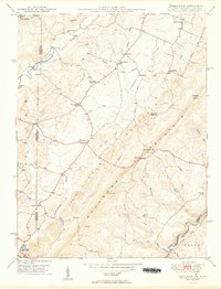 Download a high-resolution, GPS-compatible USGS topo map for Table Rock, MD (1949 edition)