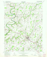 Download a high-resolution, GPS-compatible USGS topo map for Taneytown, MD (1972 edition)
