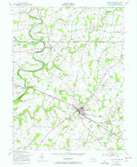 Download a high-resolution, GPS-compatible USGS topo map for Taneytown, MD (1953 edition)