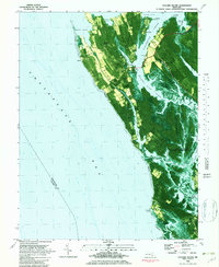 Download a high-resolution, GPS-compatible USGS topo map for Taylors Island, MD (1982 edition)