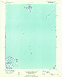 Download a high-resolution, GPS-compatible USGS topo map for Terrapin Sand Point, MD (1957 edition)