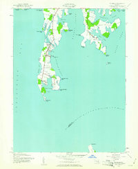 Download a high-resolution, GPS-compatible USGS topo map for Tilghman, MD (1961 edition)