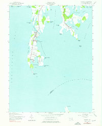 Download a high-resolution, GPS-compatible USGS topo map for Tilghman, MD (1976 edition)