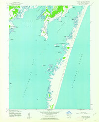 Download a high-resolution, GPS-compatible USGS topo map for Tingles Island, MD (1962 edition)