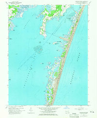 Download a high-resolution, GPS-compatible USGS topo map for Tingles Island, MD (1966 edition)
