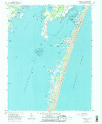 Download a high-resolution, GPS-compatible USGS topo map for Tingles Island, MD (1984 edition)